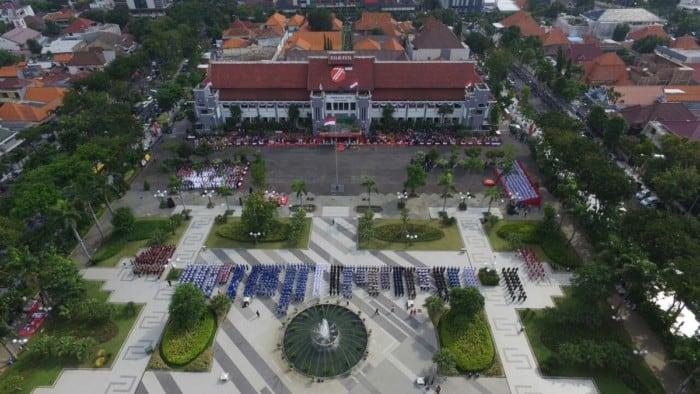 Taman Surabaya Taman Surya Balai Kota