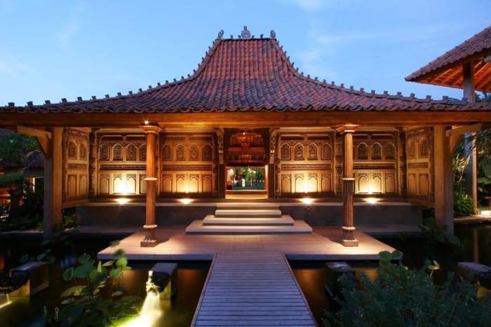 Rumah Adat Jawa Timur Rumah Joglo