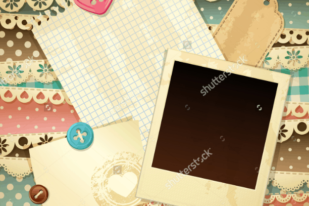 Contoh Design Background Scrapframe