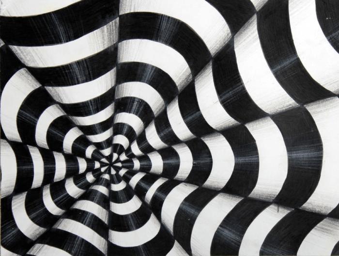 Macam-Macam Aliran Dalam Seni Rupa Optik