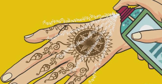 Cara Menggunakan Henna yang Benar