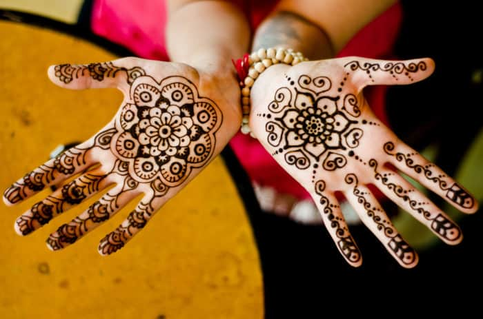 Gambar Henna Tangan Mudah Sahabatnesia