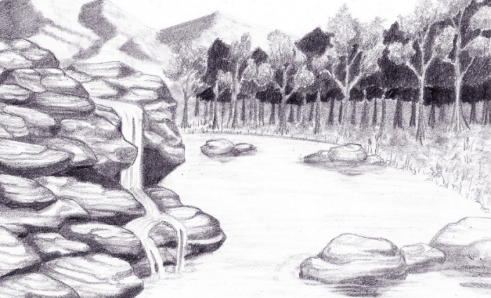 87 Gambar Arsiran Pohon Kelapa Paling Hist