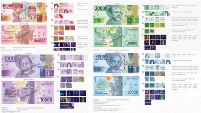 Inilah, 12 Nama Pahlawan yang Menjadi Ikon Uang Baru Indonesia di Tahun 2017 !