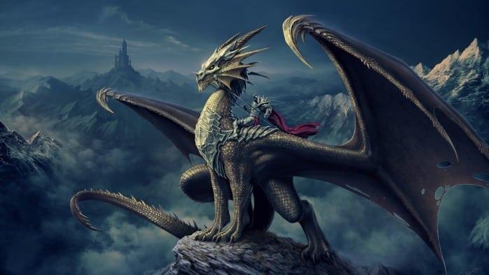 Gambar Naga Terbesar di Dunia