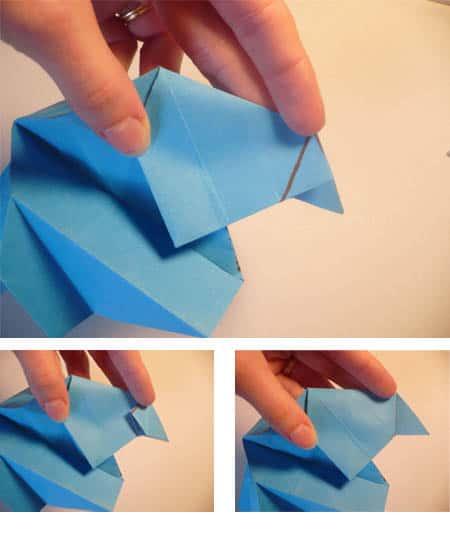 Cara Membuat Love dari Kertas Origami