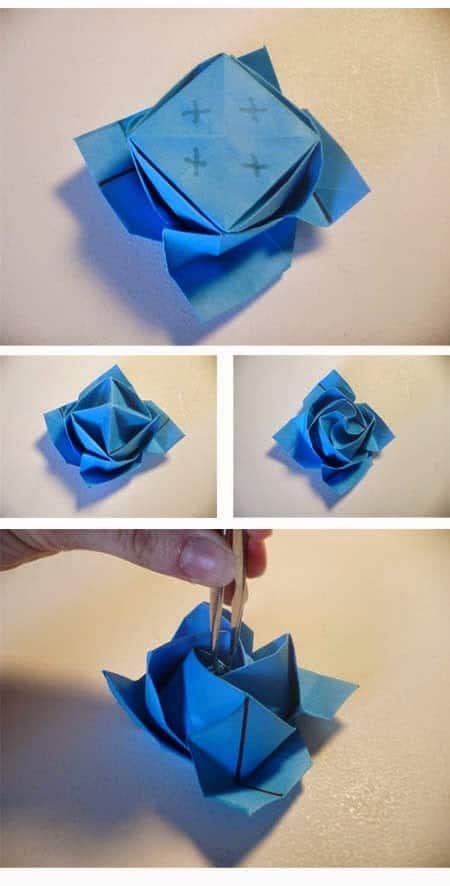 Cara Membuat Origami Love
