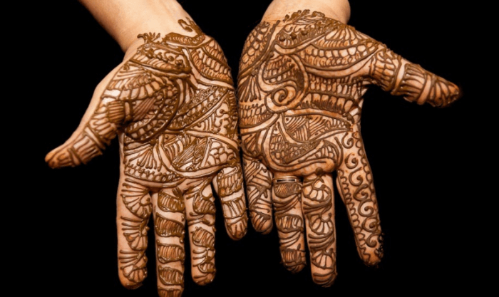 100 Gambar Henna Tangan Kaki Pengantin Motif Corak Model Simple