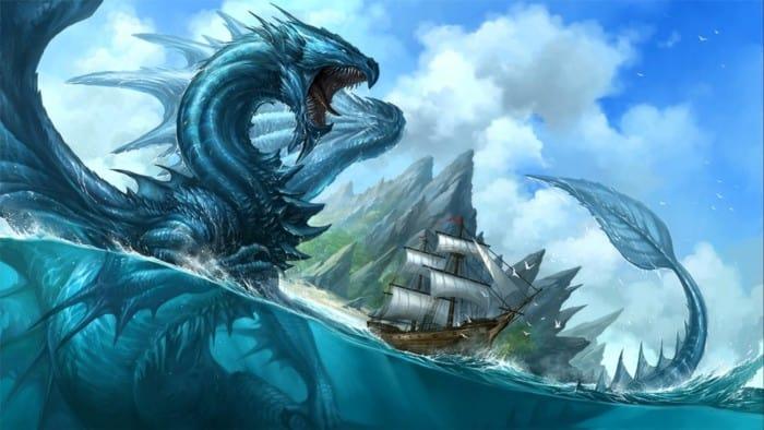 Gambar Naga Animasi