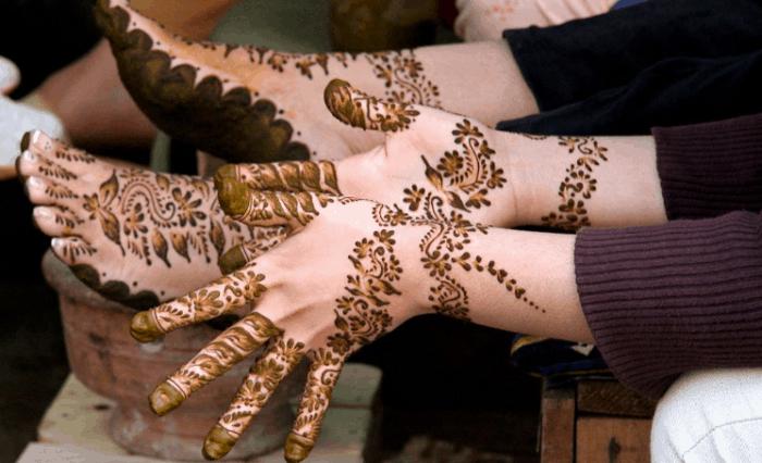 Gambar Henna Simple
