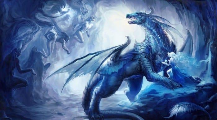 75 Gambar Naga Api Vs Air Hitam Putih Merah Biru Wallpaper Hd