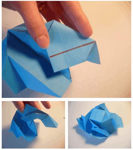 Cara Buat Origami Bunga Mawar Kertas #origami #bunga #mawar ... | 521x462