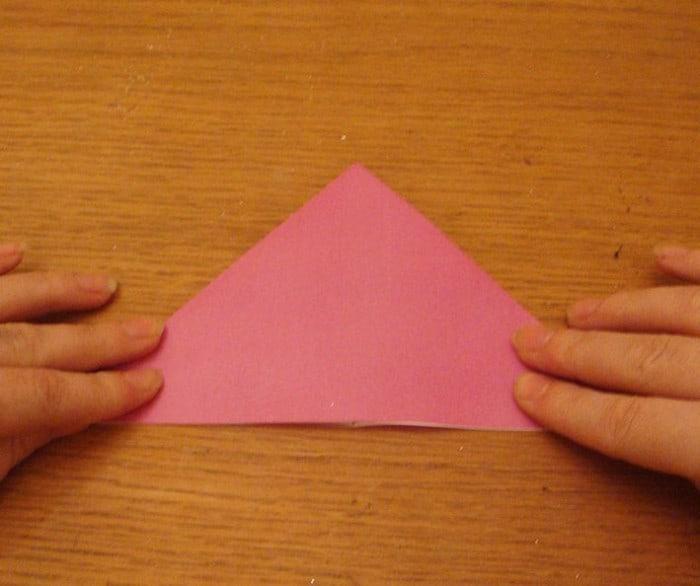 Cara Membuat Kupu Kupu dari Origami