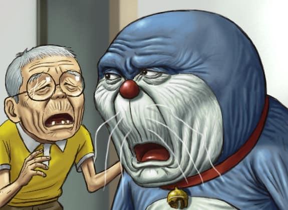 Download 74 Gambar Doraemon Yg Merokok HD Lucu