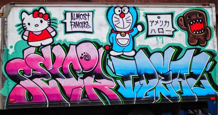 Grafiti Doraemon