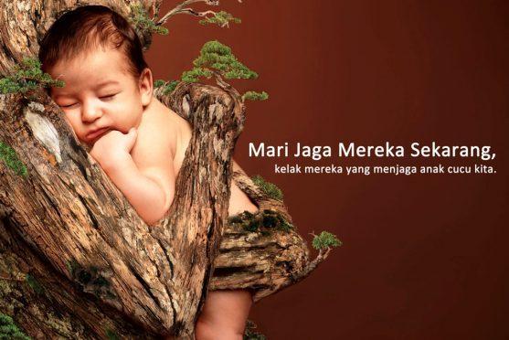 150 Contoh Gambar Poster Dan Slogan Lingkungan Hidup Yang