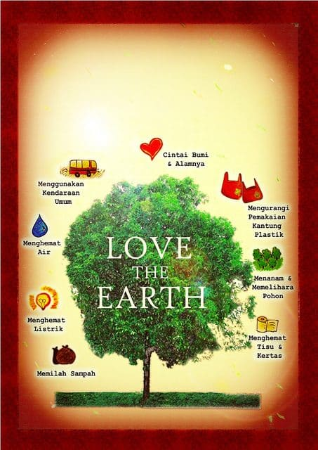 150+ Contoh Gambar Poster dan Slogan Lingkungan Hidup yang ...