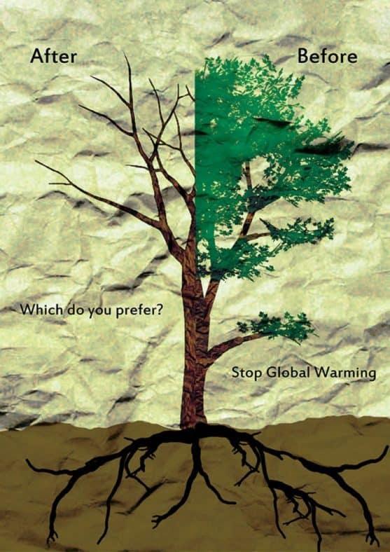 150 Contoh Gambar Poster Dan Slogan Lingkungan Hidup Yang Menarik