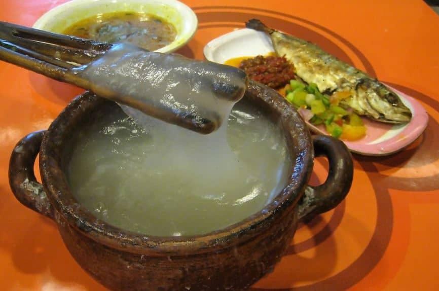 makanan papeda papua