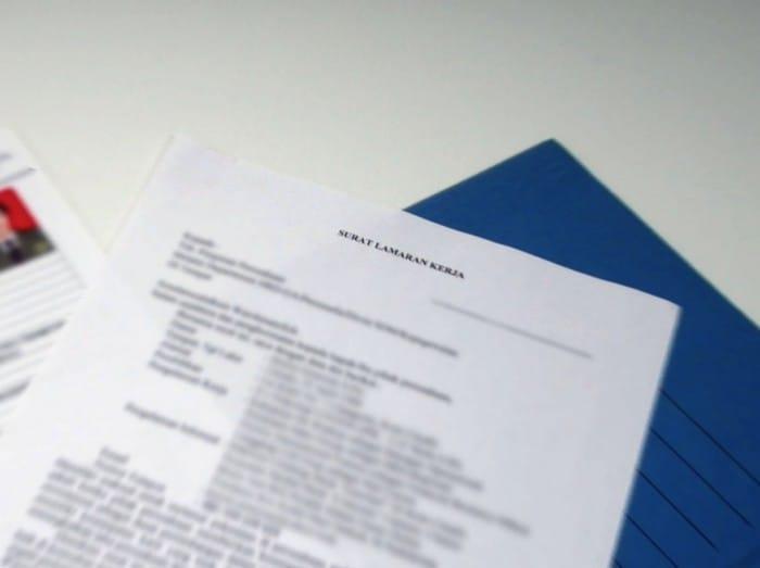 30 Contoh Surat Lamaran Kerja Yang Benar Dan Menarik Terbaru