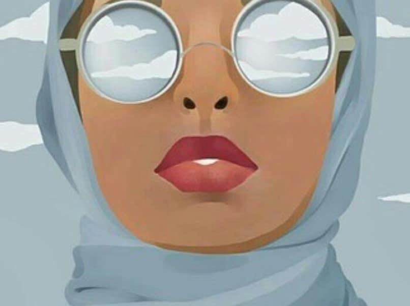 640 Koleksi Gambar Kartun Jilbab Berkacamata Terbaik