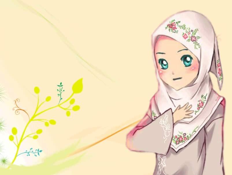 Koleksi 720  Gambar Animasi Muslimah Sedih HD Paling Baru