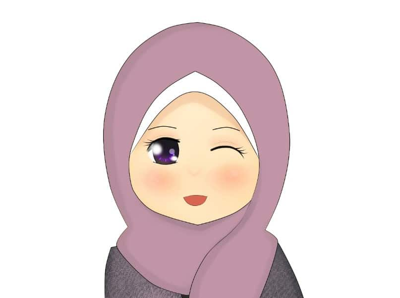 Cartoon muslimah cartoon muslimah di 2019 Anime muslimah