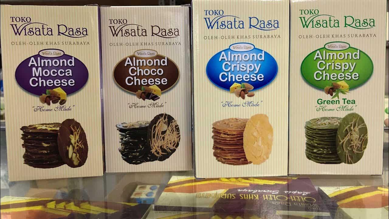 gambar Almond Crispy Cheese