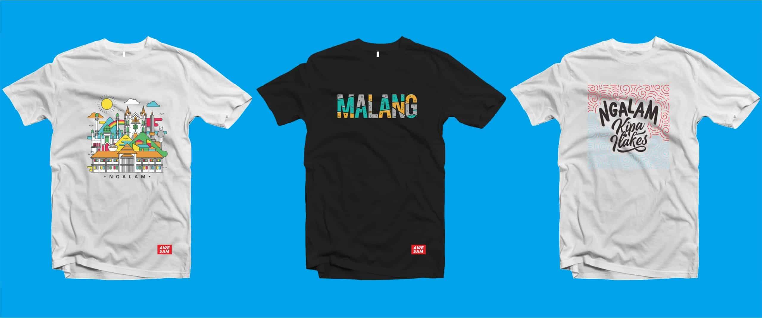 gambar Kaos dan Souvenir Khas Malang