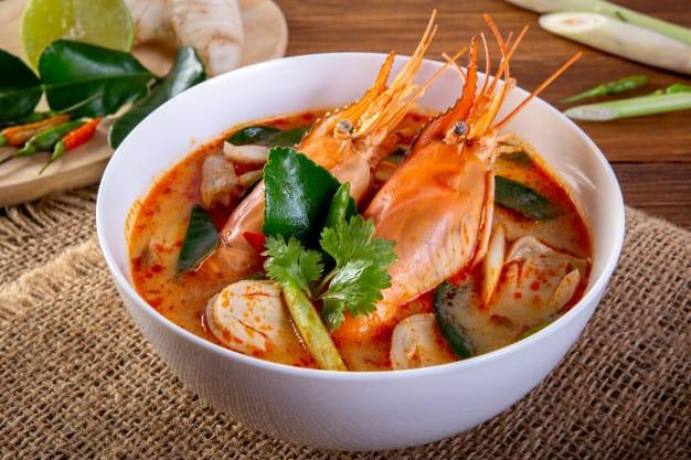 makanan khas thailand gambar Tom Yam