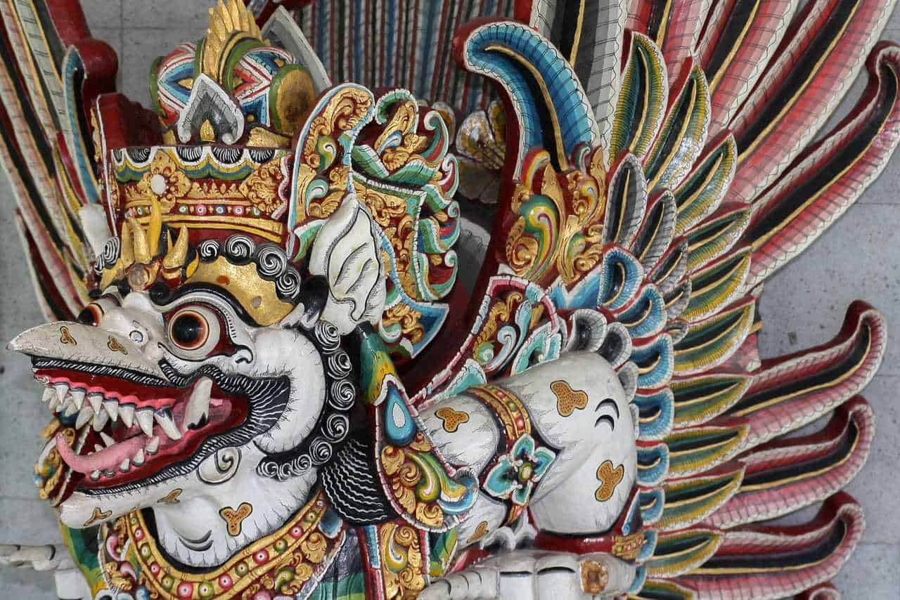 gambar Topeng Ukir Bali