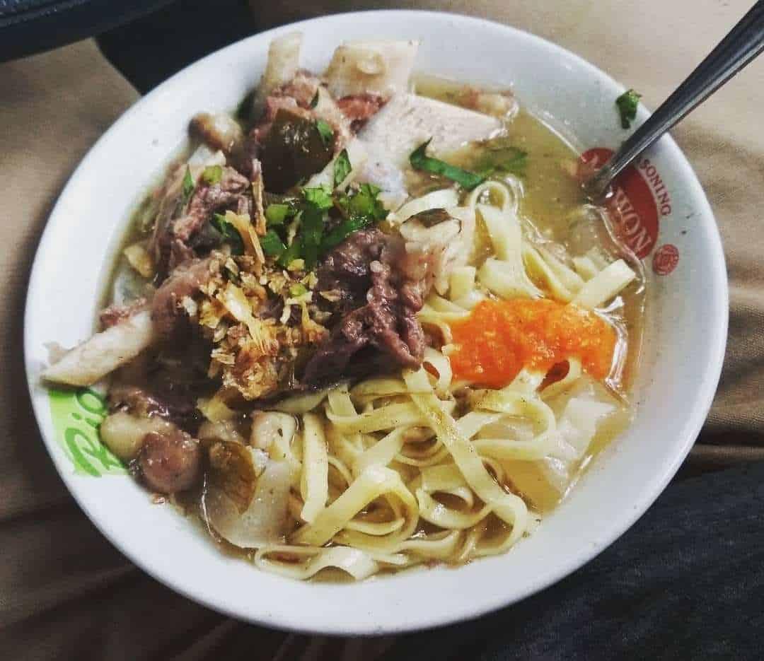gambar makanan khas bandung Mie Kocok