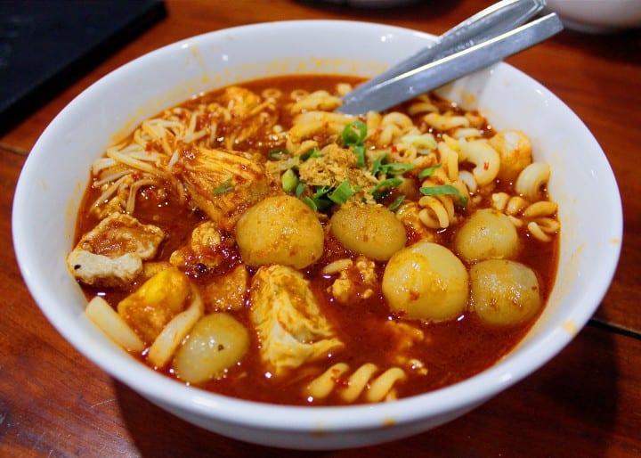 gambar makanan khas bandung Seblak