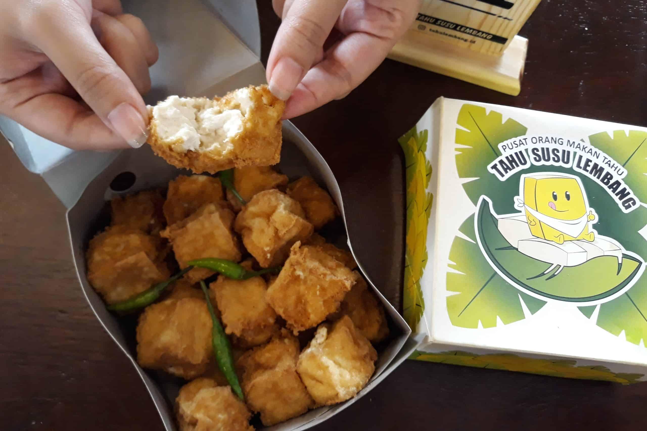 gambar makanan khas bandung Tahu Susu