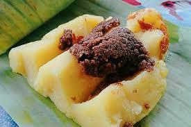 gambar makanan khas banten balok menes
