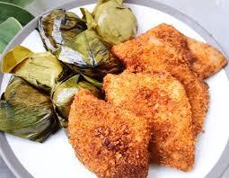gambar makanan khas banten ketan bintul