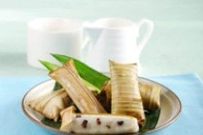 gambar makanan khas banten lepet banten