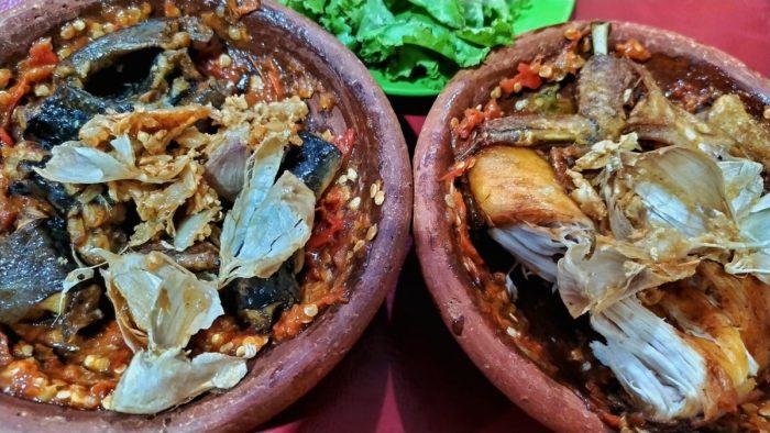 gambar makanan khas banten pecak banten