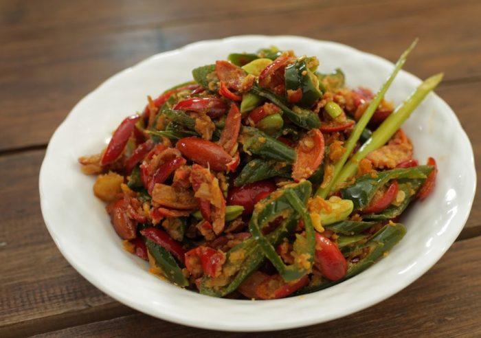 gambar makanan khas banten sambal buroq