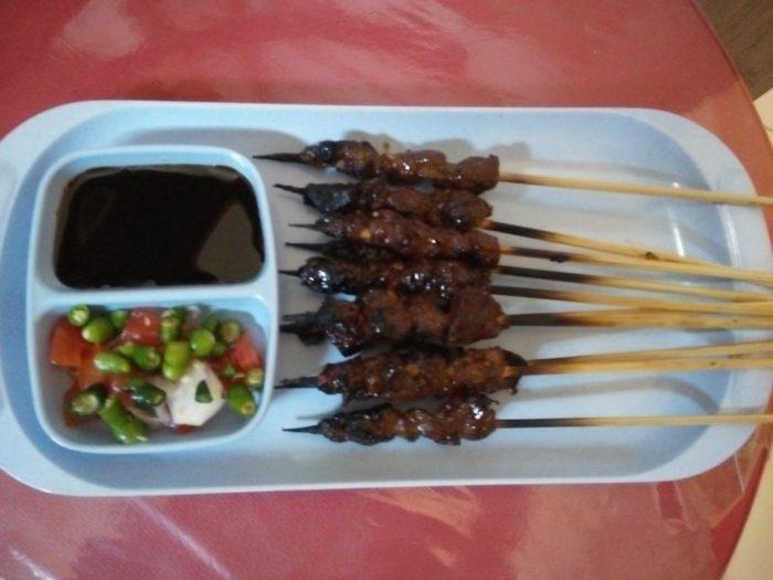 gambar makanan khas banten sate bebek cibeber