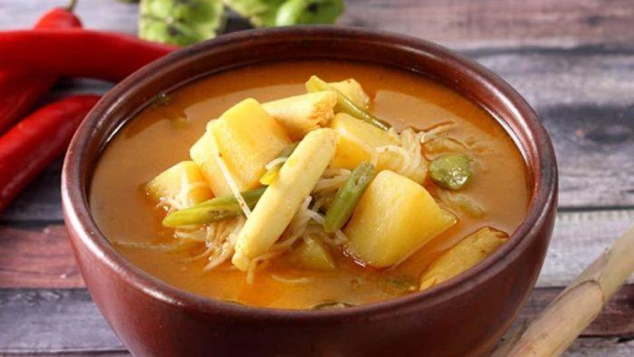 gambar makanan khas banten sayur besan