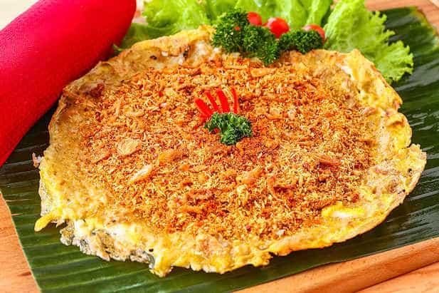 gambar makanan khas betawi kerak telor
