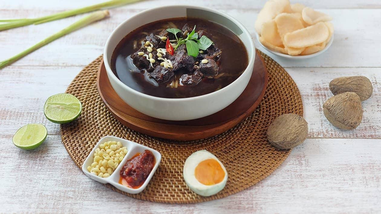 gambar makanan khas indonesia nasi rawon