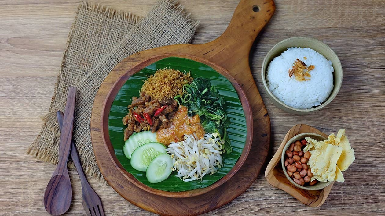 gambar makanan khas indonesia pecel