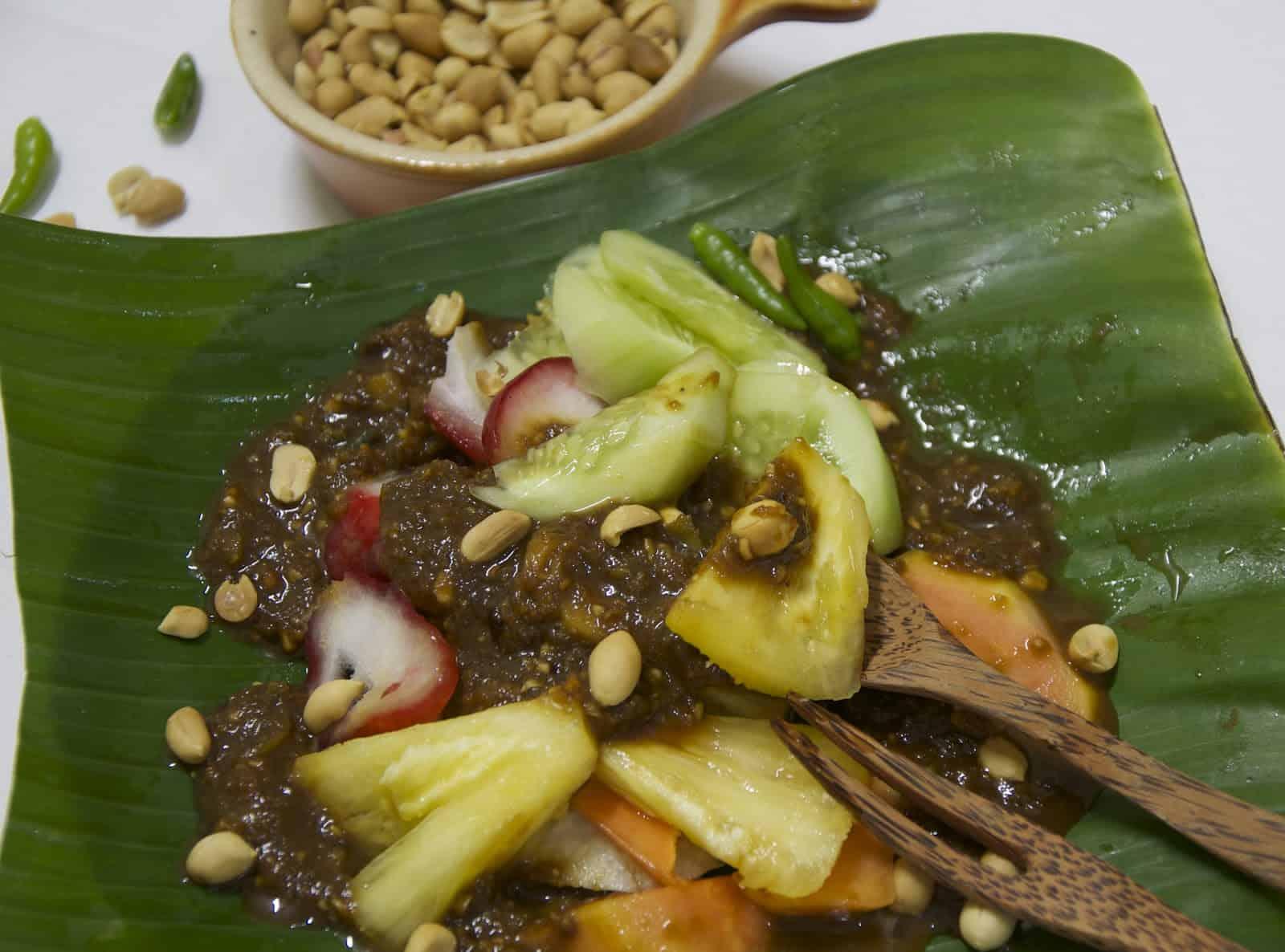 gambar makanan khas indonesia rujak