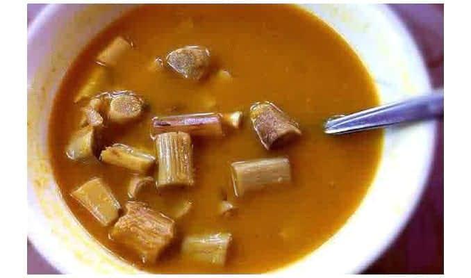 gambar makanan khas kalimantan tengah juhu kujang
