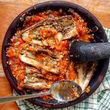 gambar makanan khas kalimantan tengah terong mapui
