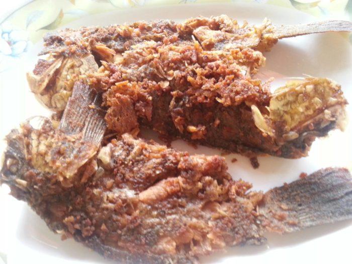 gambar makanan khas kalimantan tengah wadi
