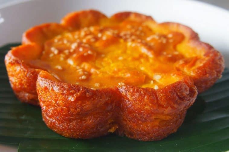 gambar makanan khas kalimantan timur Kue Bingka Kentang