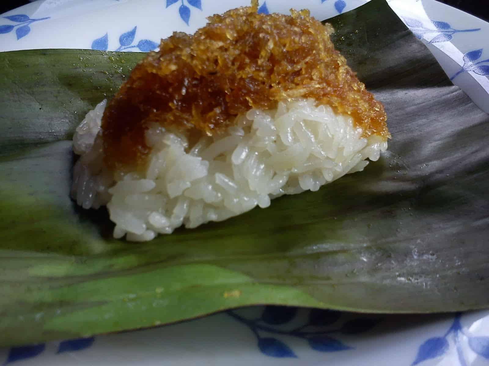 gambar makanan khas kalimantan timur Pulut Nasi